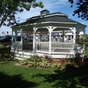 vinyl 14 by 24 foot oval gazebo