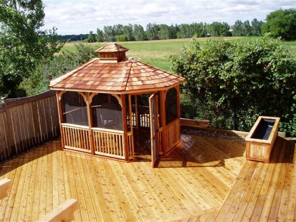 Wooden Gazebos By Countryside Canada