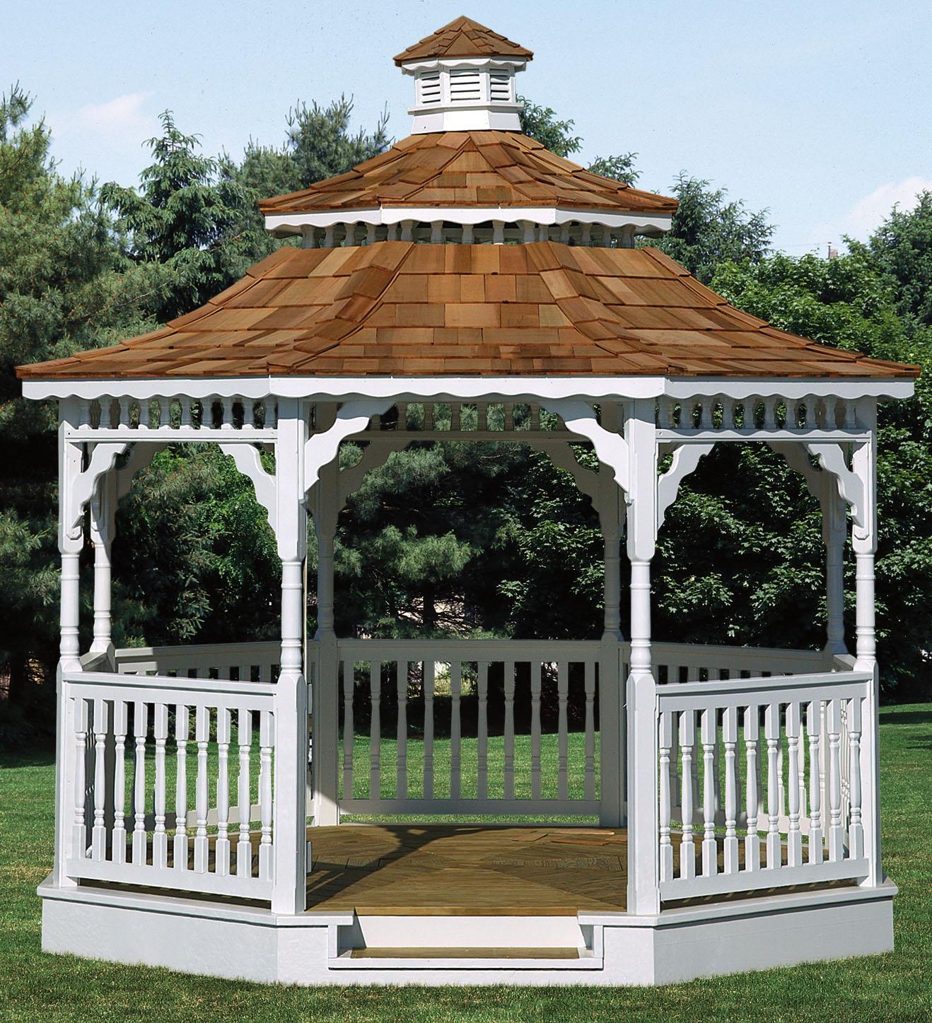 Gazebo Pergola Roof Styles